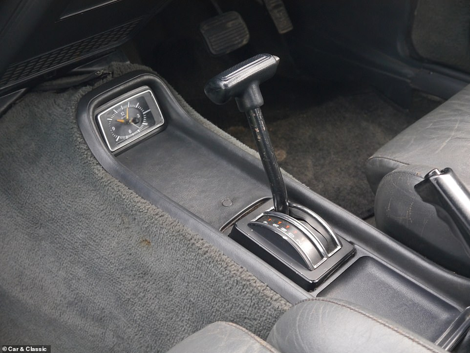 The car is unique from any other Capri from the year, with the 1981 model fitted with an automatic gearbox at HF2's request
