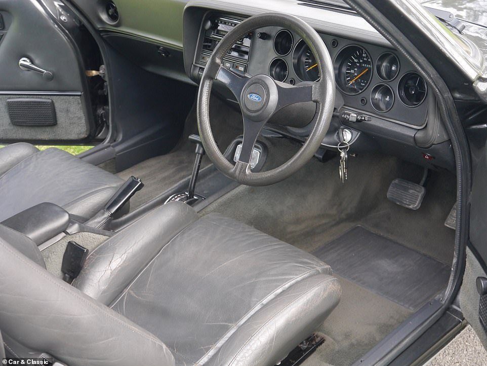 A recent full restoration has the Capri back to its best. It is described as 'running just as Ford intended', with the V6 'barking into life with the flick of the key' and pulls through the gears smoothly without any 'untoward noises coming from either the transmission, differential or the engine'