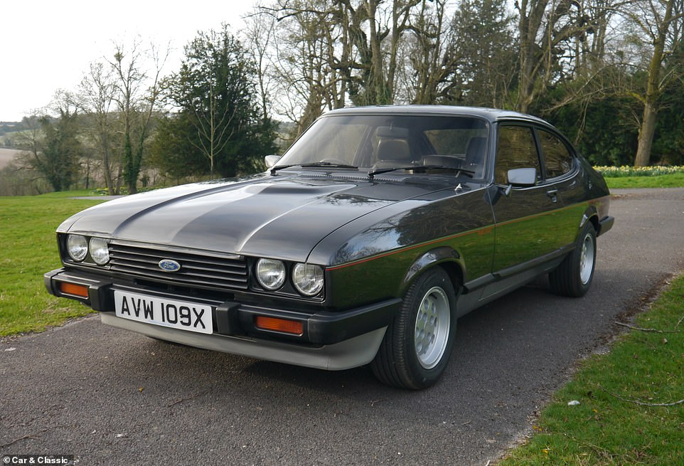 The Capri was returned to Ford UK in 1983 and was subsequently bought by more than one Ford employee during its life