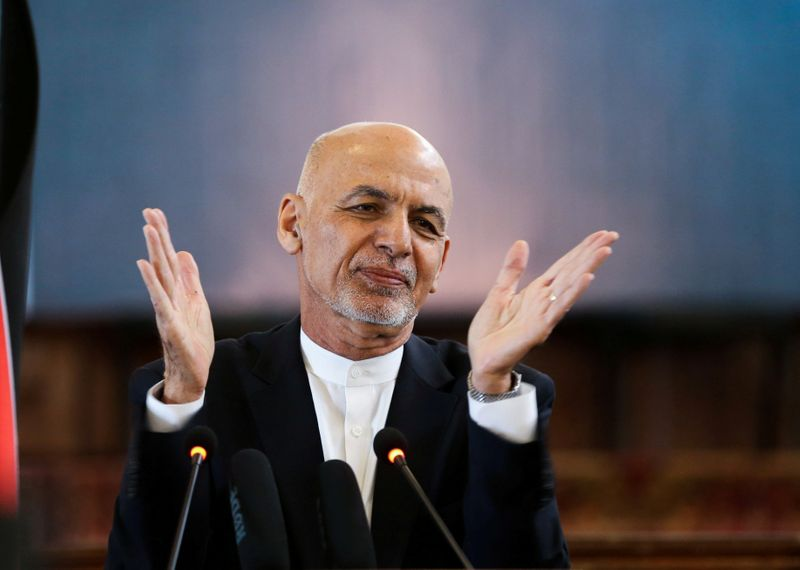 Afghan leader proposes peace road map in three phases-document