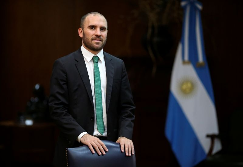 Argentina's economy minister heads to Europe to woo finance officials over debts