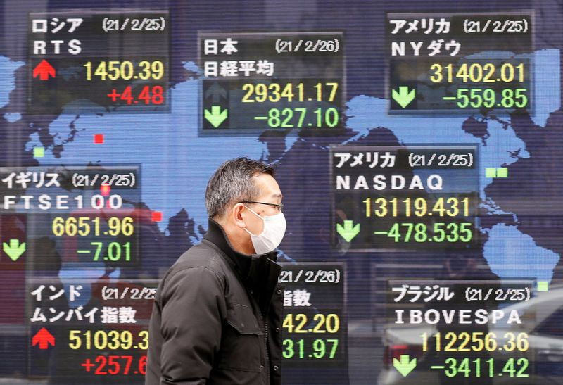 Asia shares set to rise after S&P 500, Dow hit records on strong economic data