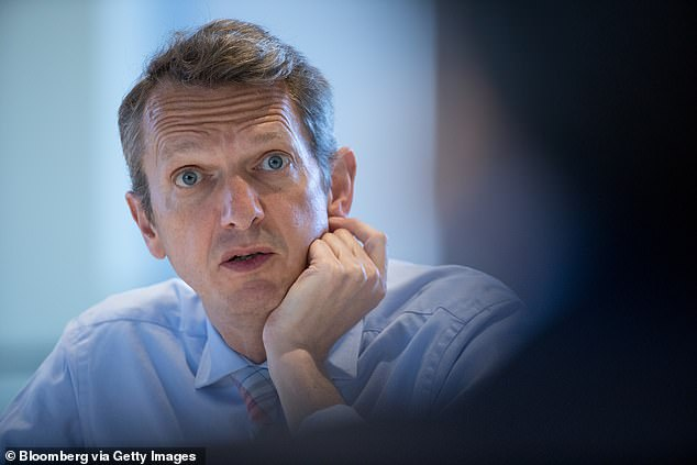 Surprise exit: Andy Haldane will leave the Bank of England in June