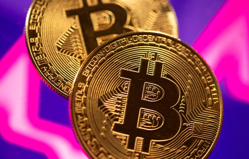 Bitcoin above $60,000 again, rises 1.32% to record $60,555.97