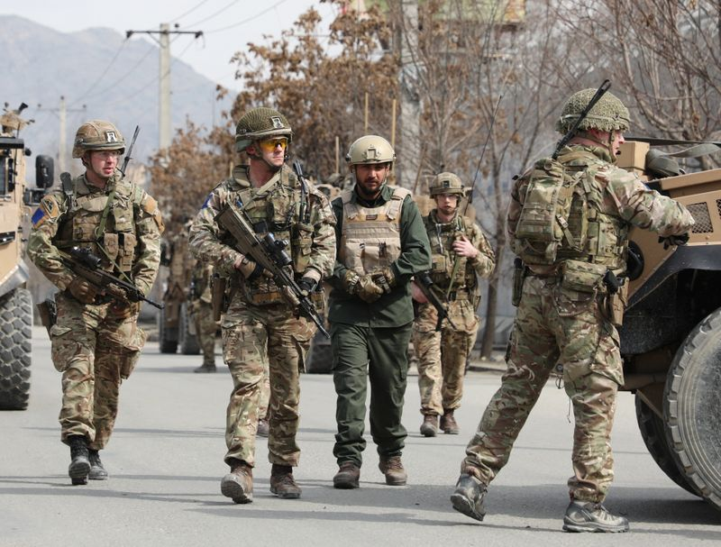 Britain to withdraw nearly all its troops from Afghanistan - The Times