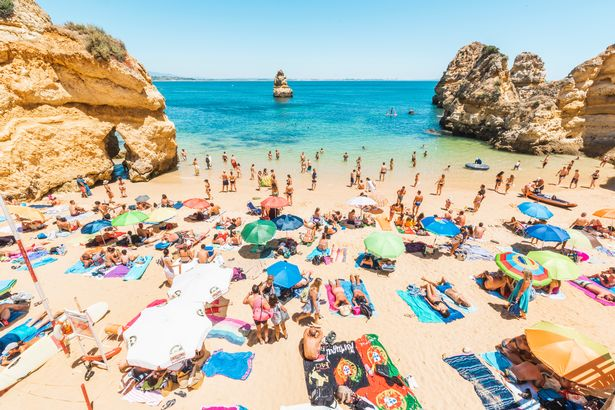 Portugal is looking to welcome UK holidaymakers soon (file photo)