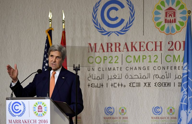Carney, Kerry launch global finance plan to boost climate action