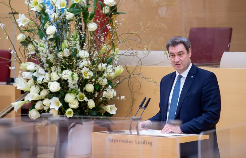 Carnival-loving, eloquent Soeder wants to be Germany's first Bavarian chancellor