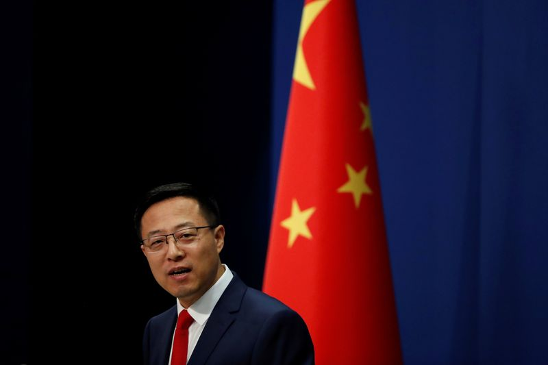 China says U.S. to blame for tensions over Taiwan