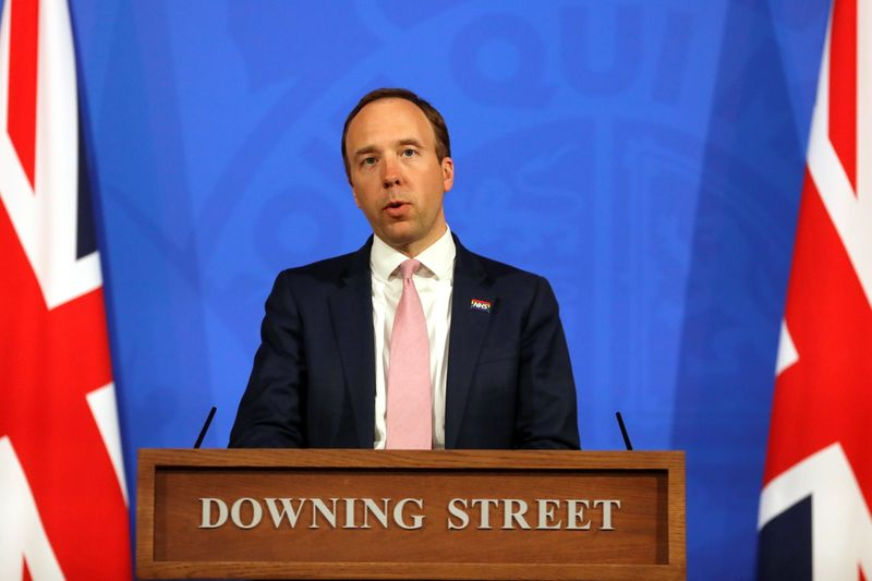 England on track for next stage of lockdown easing - health minister