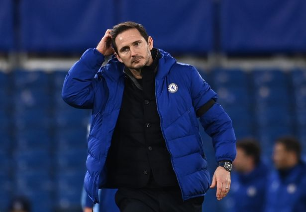Lampard was sacked by Chelsea in January