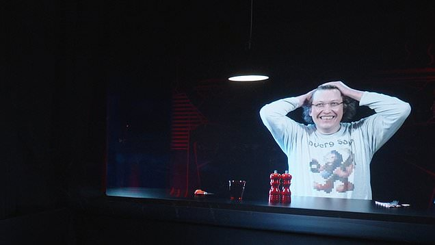 Life-sized 3D holograms allow loved ones to virtually share meal