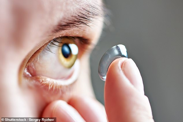 Contact lenses made with millions of gold nanoparticles, no bigger than a speck of dust, could combat a common type of colour blindness