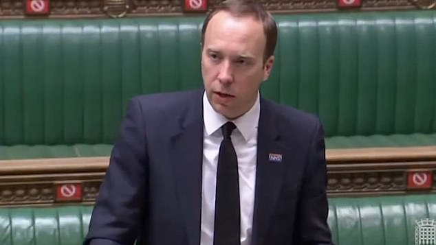 Ministers will try to make coronavirus vaccines compulsory for care home staff, Matt Hancock confirmed today