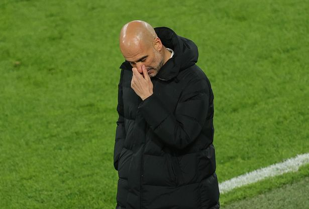 Pep Guardiola is enjoyed a successful season as Man City's manager