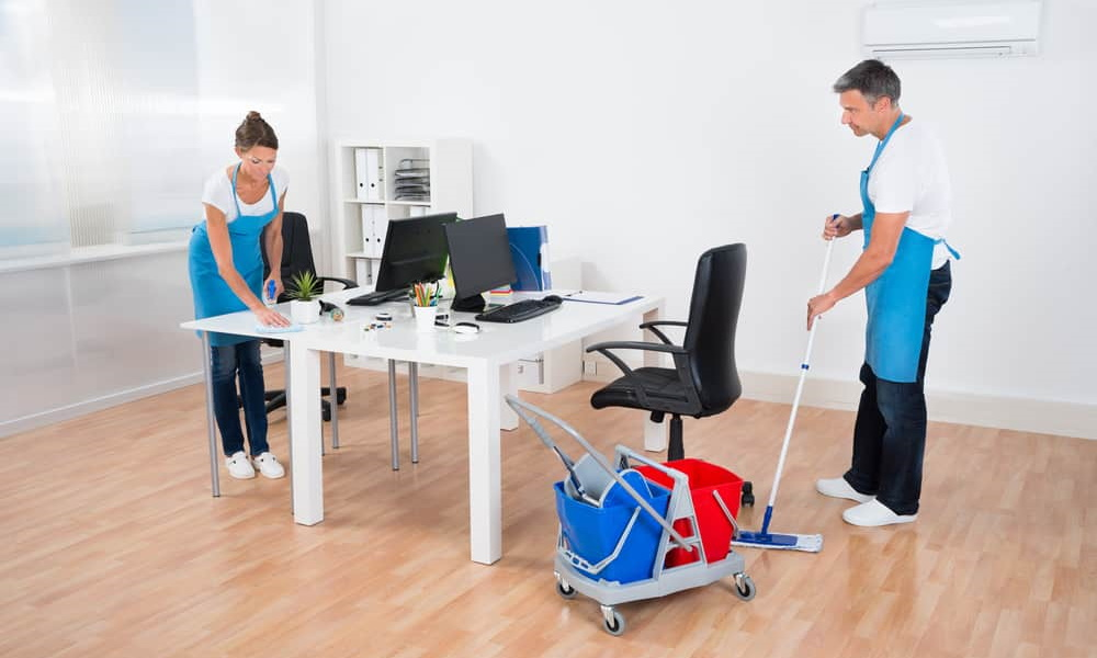 How to Choose the Right Office Cleaning Contractor