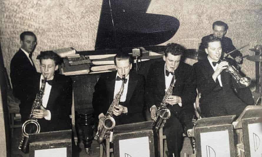 John Lloyd performing with the Don Langley Dance Band in Birmingham in 1952