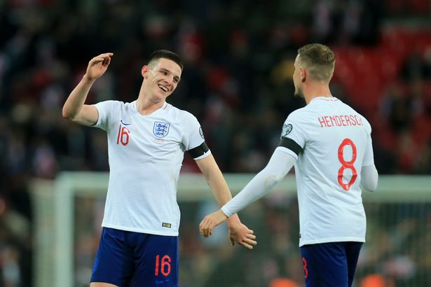 Henderson is in a race to be fit for the Euros