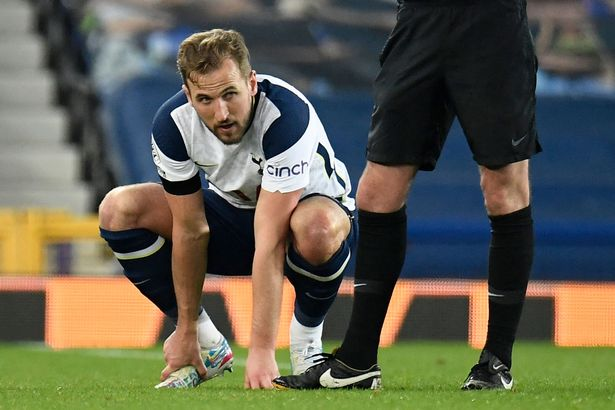Kane suffered an injury late on in the draw with Everton