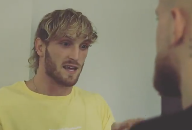 Logan Paul delivers his pre-fight pep talk to Jake