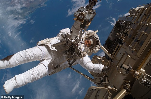 Microgravity presents a serious issue for astronauts during long-term space flight, as it decreases bone density, increases the risk of bone fractures and degrades muscle performance. Pictured,ESA astronaut Christer Fuglesang on a space walk during construction on the International Space Station in December 2006