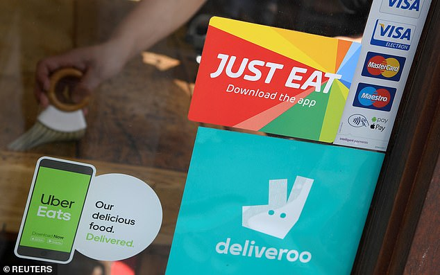 Just Eat tumbled after rival Uber announced it would launch in Germany, which would break the FTSE 100 company's stranglehold on the German market