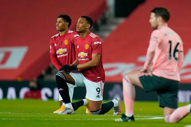Man Utd are urging fans to report any incidents of racism or discrimination