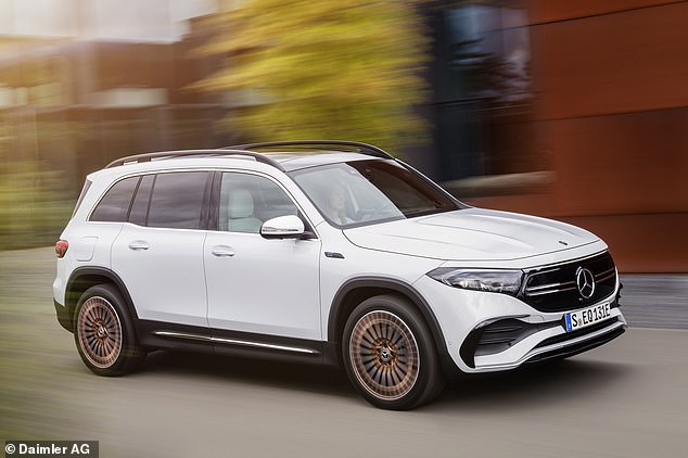 Mercedes' electric charge continues: This is the new EQB - the German brand's zero-emission seven-seat SUV due to hit the market this year