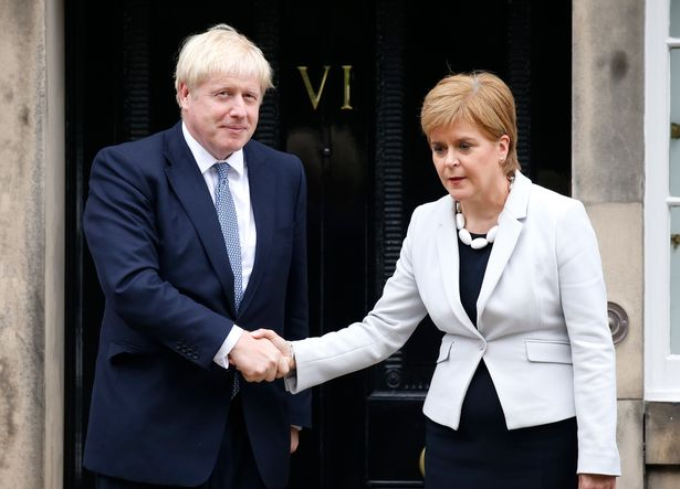 No10 dismissed Nicola Sturgeon's claim that Boris Johnson would allow another independence referendum