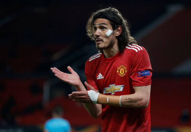 Ole Gunnar Solskjaer says he would 'love' Edinson Cavani to stay at Manchester United