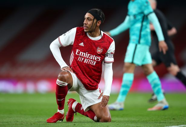 Pierre-Emerick Aubameyang was once again ineffective in the weekend defeat to Liverpool