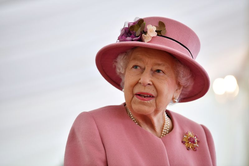 Queen Elizabeth returns to royal duties four days after her husband's death - PA Media