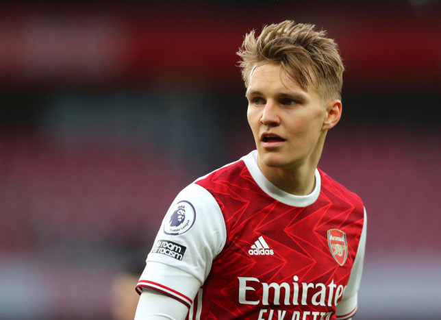 Martin Odegaard has impressed since joining Arsenal in January
