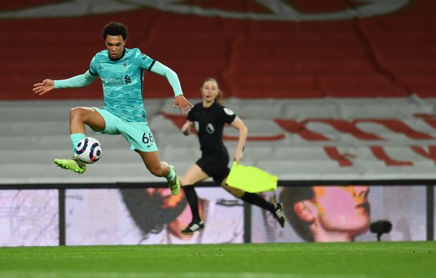 Trent Alexander-Arnold's quality was on show in the win over Arsenal