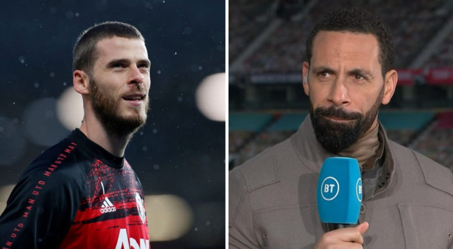 Rio Ferdinand believes David de Gea could be set to leave Manchester United