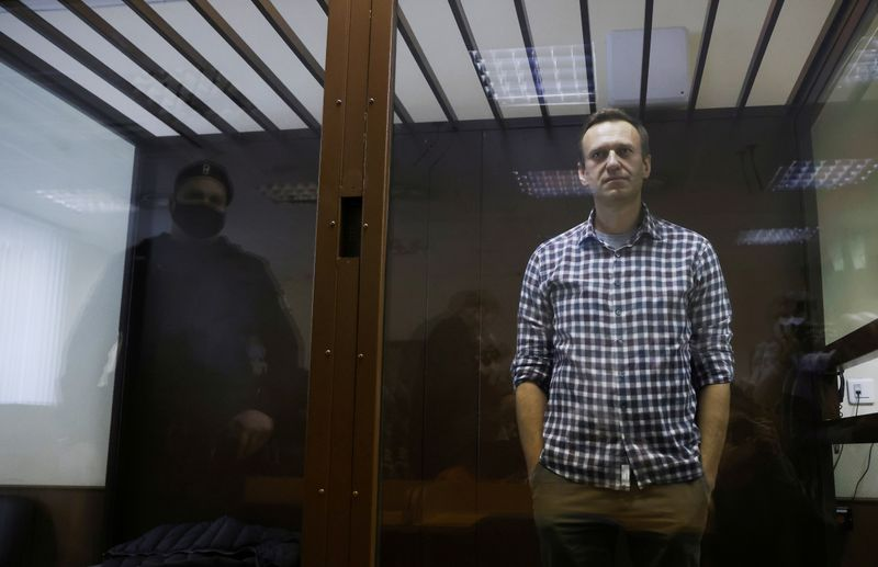 Russian prison threatens to force feed hunger-striking Kremlin critic Alexei Navalny - allies