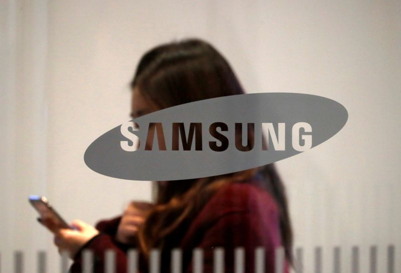 Samsung Electronics says first-quarter profit likely rose 44%, in line with analyst estimate