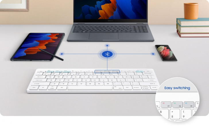 Samsung's new Bluetooth keyboard looks like it came from Apple, but it's made for DeX