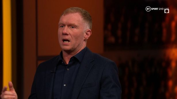 Paul Scholes discussed Manchester United's need for a new striker