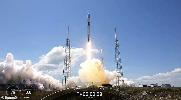 SpaceX launched its 10th batch of Starlink satellites for the year Wednesday afternoon, bringing the total to 1,443 in orbit. The Falcon 9 rocket took off at 12:34pm ET from Kennedy Space Center in Cape Canaveral, Florida