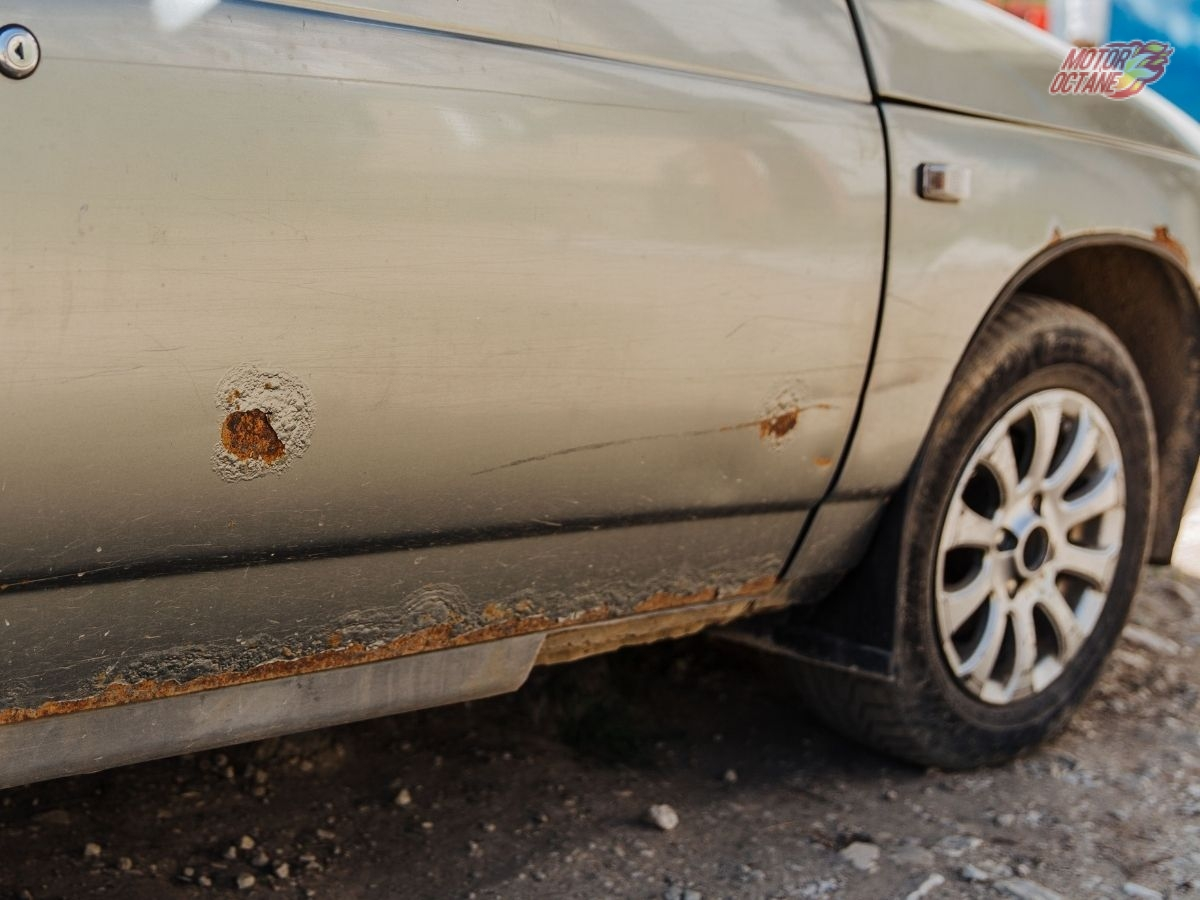 Rusting in a Used car