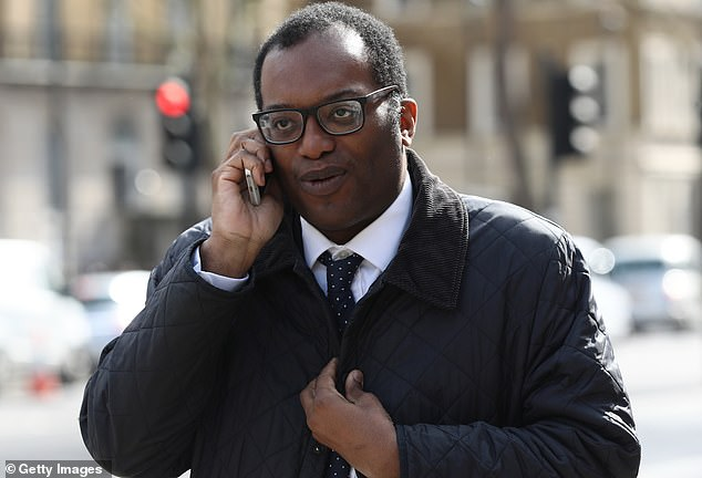 Security fears: Business secretary Kwasi Kwartenghas caused tensions with fellow Conservative MPs after he tabled an amendment to the National Security and Investment Bill