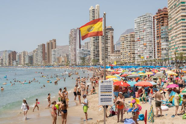 Benidorm in Spain may be off the cards for Brits this year