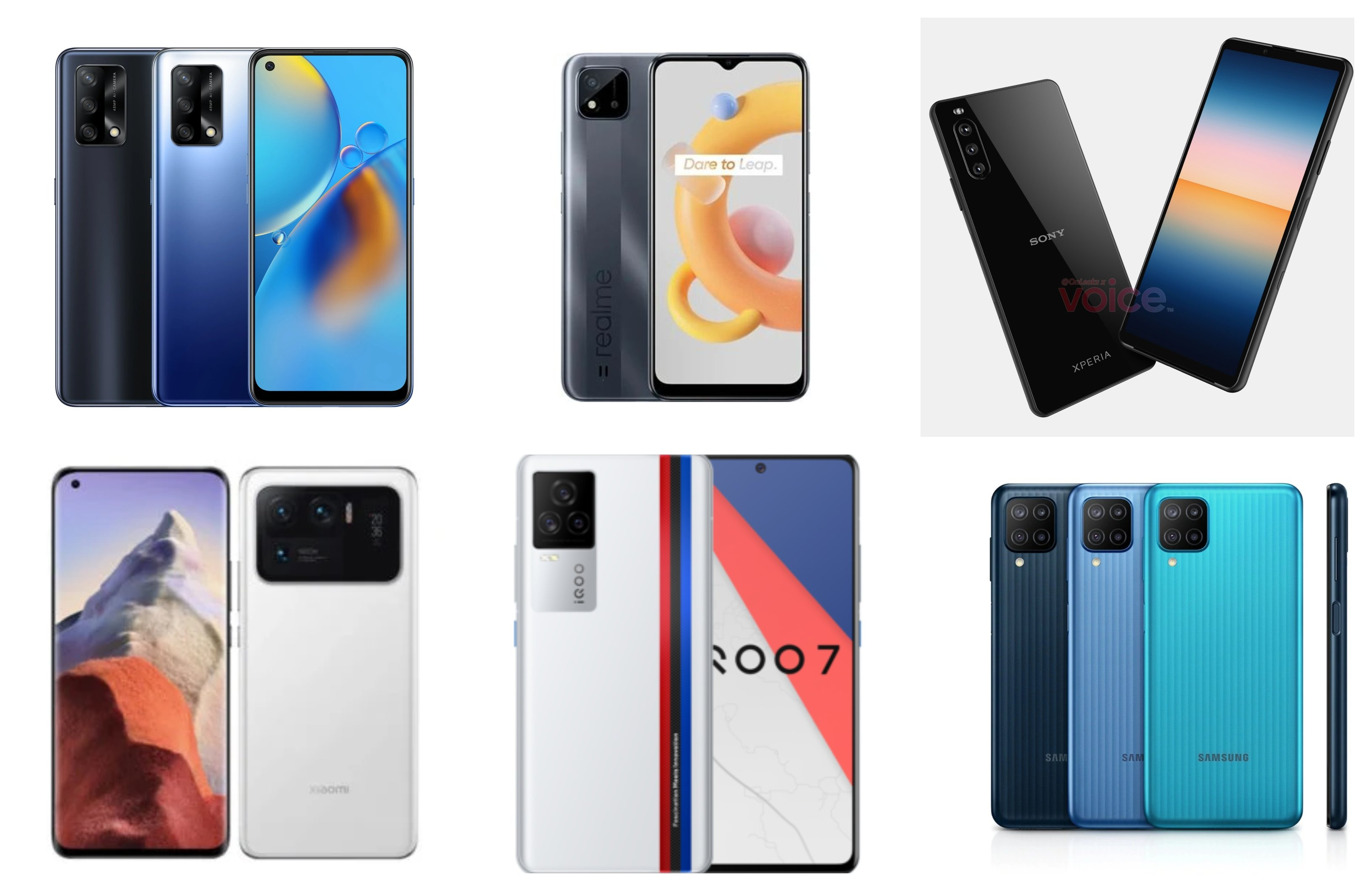 upcoming smartphones april 2021