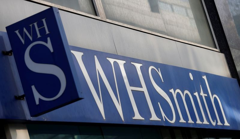 WH Smith warns of possible 2022 covenant test breach, posts half-year loss