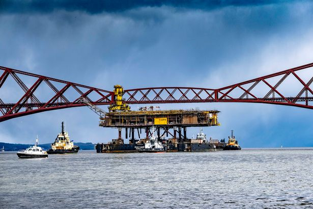 Iron Lady on River Forth