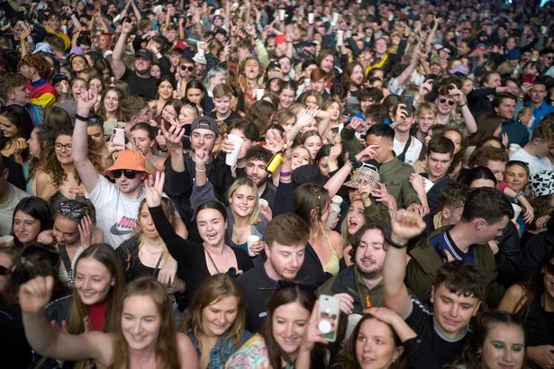 Scenes like this have not been seen for 15 months. Large venues could still have reduced capacity