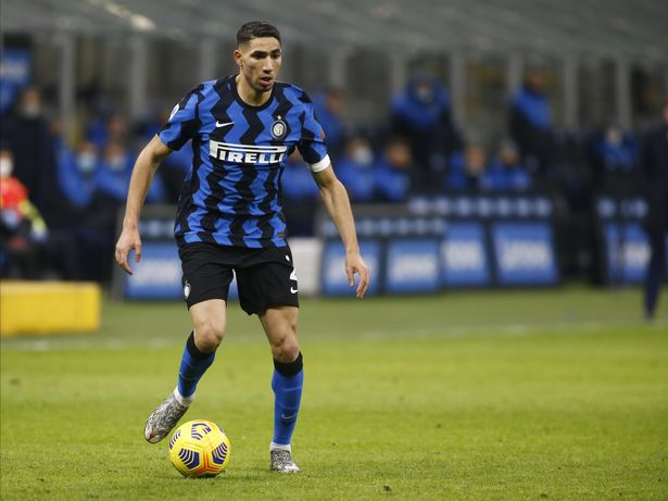 Hakimi has been a key cog in Inter's title-winning side this season