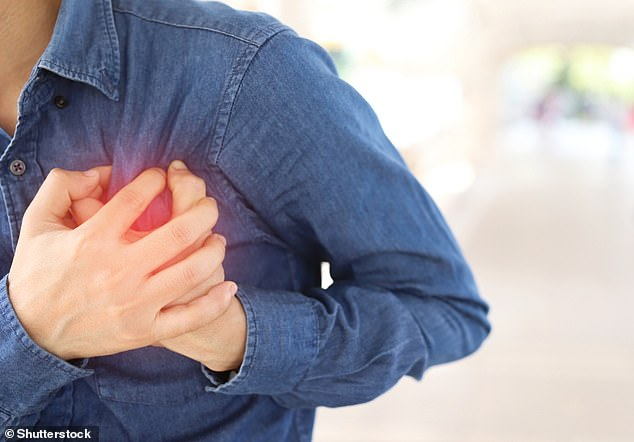 Cardiovascular disease (CVD) is a general term for conditions affecting the heart or blood vessels. CVD events include heart disease and stroke. All heart diseases are cardiovascular diseases, but not all cardiovascular diseases are heart disease (stock image)