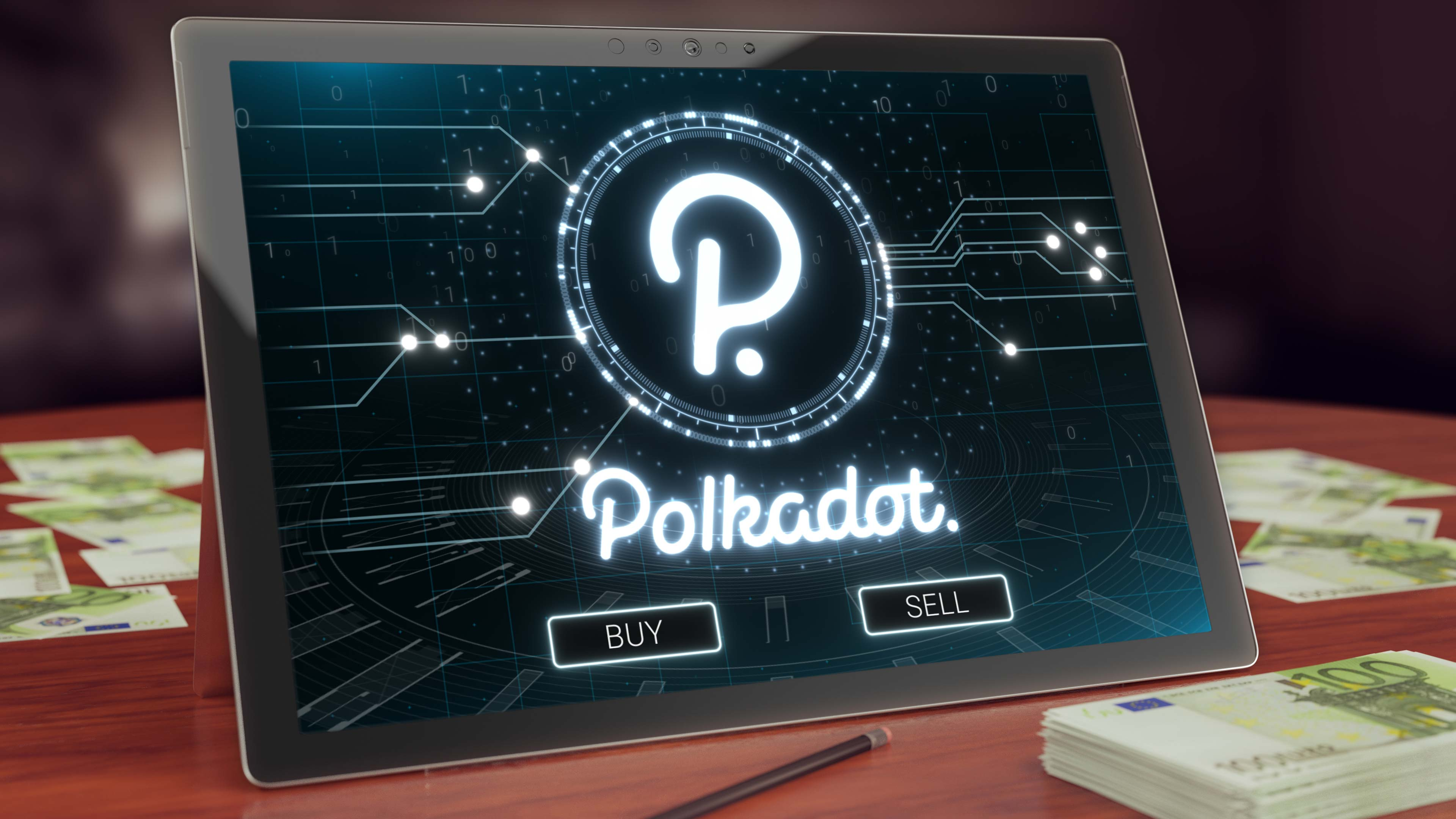 Top cryptocurrency listed — Polkadot